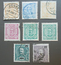 Item 80112 Portugese Angola Misc. Portrait Stamps 1893-1898 used