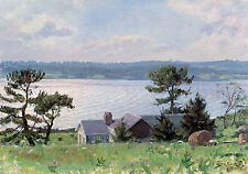 John Stobart Print - A View Over the Sakonnet River