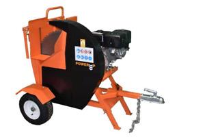 Engine Driven Petrol Log Saw / 15hp Petrol Engine / Saw Bench / UK Stock
