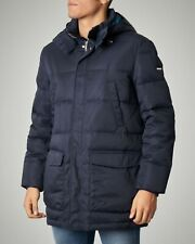 $390 A|X ARMANI EXCHANGE MEN'S NAVY DUCK DOWN PUFFER PARKA HOODED JACKET COAT M