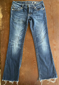 Miss Me Women's Boot Cut Medium Wash Blue Jeans Size 27