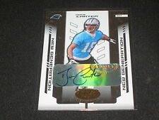 DREW CARTER PANTHERS ROOKIE FOOTBALL LEGEND SIGNED AUTOGRAPHED CARD RARE /1000