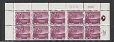 ISRAEL Landscape #466A BREKHAT RAM 0.35  Plate Block Stamp 20.02.76 / 025126