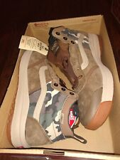 Vans Mens UltraRange Hi DI MTE All Weather Boots Dark Earth Nomad Camo Size 11.5