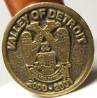 Scottish Rite Masonry Valley of Detroit 32 Degree 2000-2001 Token