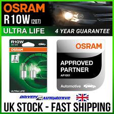 2x OSRAM R10W ULTRA LIFE BULBS 12v 10w TRIUMPH STREET Street Triple 01.08-12.09