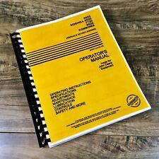 Operators Manual For John Deere 6620 7720 8820 Combine Owners Book 551901 600000