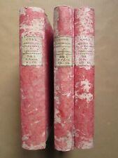 FLEURIGEON : CODE ADMINISTRATIF ou recueil des lois, 1806. 3 volumes de A à G.