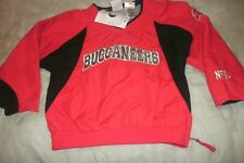 Tampa Bay Buccaneers Red Pullover Jacket NFL Football Youth Size XS 4/5 (B138)