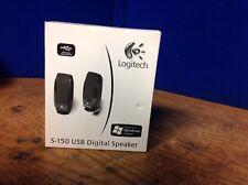 Logitech S150 Digital Sound Computer Speakers - Black