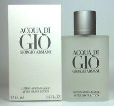 Acqua  Di Gio by Giorgio Armani Men 3.4/3.3 oz After Shave LotionNew in Box