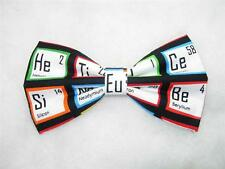 (1) PRE-TIED BOW TIE - IT'S ELEMENTAL - THE PERIODIC TABLE OF ELEMENTS