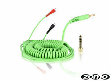 Mint Green HD-25 Spiral DeLuxe Cable for Sennheiser Headphone HD 25