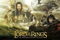 "THE LORD OF THE RINGS TRILOGY - MOVIE POSTER / PRINT (SIZE: 36"" X 24"")"