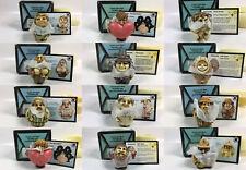 NOS Harmony Ball Pot Bellys Miniature Figurines Lot of 12 NIP Y2K Kingdom NIB