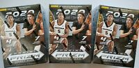 2020-21 Panini Prizm Draft Picks Basketball NBA Blaster (3 Box Lot) New Sealed