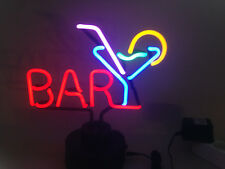 BAR & DRINKS neon sign Neonleuchte Neonlampe Leuchte Neonschild Tables signs