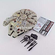 Star Wars Transformers HAN SOLO / CHEWBACCA MILLENIUM FALCON Playset