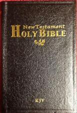 NEW HOLY BIBLE Pocket Size King James Version New Testament Black