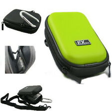 Ex-Pro® Green Hard Clam Camera Case Fuji Finepix JZ510 JX200 JX210 JX250