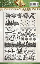 """Clear STAMPS """"spirit Of Christmas"""" stempeln Weihnachten Kartengestaltung"""