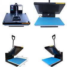 15x15 Clamshell Heat Press Machine Sublimation Transfer Printer Diy T Shirt Us
