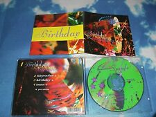 RADIAL SPANGLE - BIRTHDAY UK MAXI CD SINGLE E.P W/RARE B-SIDES