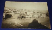 RP2212 Antique RPPC Birdseye View of Granum Alberta MacIvor Kintail ON PostCard