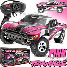 Traxxas Slash Xl-5 2Wd Rtr w/Tq 2.4Ghz Short Course Electric Rc Truck 58024 Pink