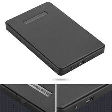 "USB 2.0 Hard Drive External Enclosure 2.5"" SATA HDD Mobile Disk Box Case Cover"