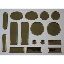 16er Epoxy Set Anstossschutz Kantenschutz Prallschutz Tuerkantenschoner gold