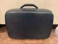 Vintage Samsonite Silhouette Dark Blue Luggage Suitcase