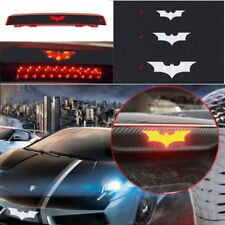 Auto SUV Vinyl Car Batman Decal 3D Carbon Fiber Stop Brake Tail Light Sticker