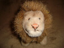 "Knofp Im Ohr Steiff Lion Made in Germany Plush 5"" tall"