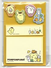Sanrio Pom Pom Purin Sticky Notes Tabs Japan Folder