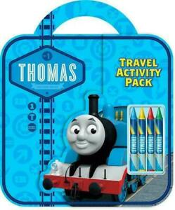 Thomas & Friends Travel Activity Pack Children's Party Colouring For Kids