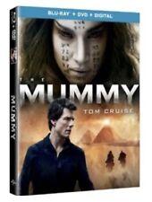 THE MUMMY 2017(BLU-RAY+DVD+DIGITAL HD)W/SLIP COVER BRAND NEW