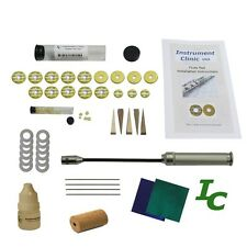 Flute Pad Kit for Buffet Flutes, with Leak Light, Instructions, USA!