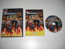 EMERGENCY 2012  Pc DVD Rom FAST DISPATCH