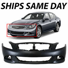 NEW Primered Front Bumper Fascia for 2010-2015 Infiniti G25 G37 Q40 Sedan 10-15