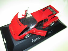 Ferrari Testarossa Coupe in rot rouge rosso roja red, Herpa in 1:43 boxed!