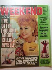 I LOVE LUCY Vintage 1977 Lucille Ball European WEEKEND Magazine