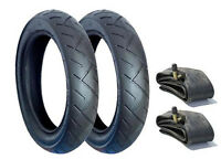 SET OF  TYRES AND TUBES FOR A QUINNY BUZZ PUSHCHAIR