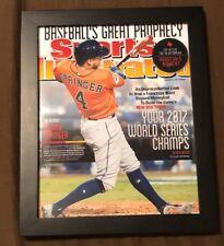 Houson Astros George Springer Framed 8X10 2017 Sports Illustrated Picture