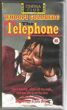 THE TELEPHONE VHS PAL WHOOPI GOLDBERG,ELLIOTT GOULD,JOHN HEARD,AMY WRIGHT NEW