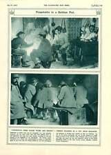 1917 Monastir serbo Hut I SOLDATI FRANCESI poilu BIRDWOOD Von LUDENDORFF Von Emmi