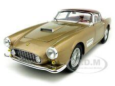 ELITE EDITION FERRARI 410 SUPERAMERICA GOLD 1:18 MODEL CAR BY HOTWHEELS T6250