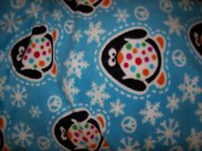 penguins baby toddler daycare 36x30 personalized fleece blanket