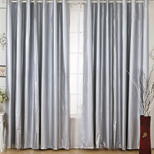 100% blockout coated panel curtain Block Light/Black out eyelet Curtain LC922