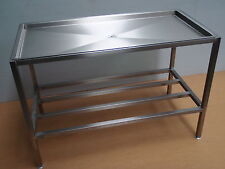DRAINING DRAINAGE DRIP TABLE FOR DISH WASHER BASKETS  ONLY £295+VAT